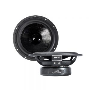 """Best car audio system of 2020 II HEX 6"""" 2-Way Components"""